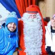 Shanna et Thibault en voyage en Laponie.