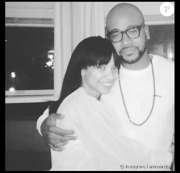 L'acteur Columbus Short et Karrine Steffans qui se présente comme sa femme. Photo publiée sur son compte Instagram au mois de mars 2016.