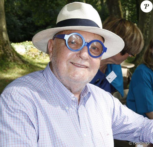 Jean-Pierre Coffe lors de la 20e édition de La Forêt des livres à Chanceaux-près-Loches, le 30 août 2015.
