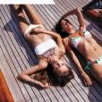 """Josephine Skriver, Sara Sampaio- Lookbook """"Sexy in St. Barth's"""" de Victoria's Secret, nouvelle collection SWIM."""