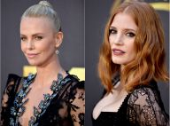 MTV Movie Awards: Charlize Theron envoûtante devant Jessica Chastain décolletée