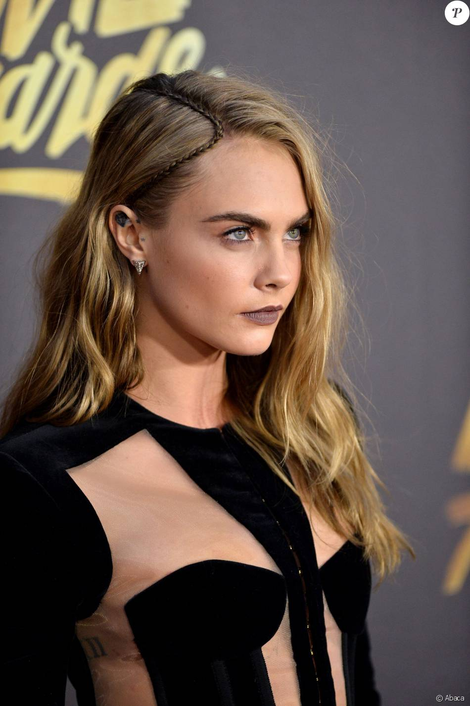 Cara Delevingne lors des MTV Movie Awards 2016 au Warner ...