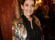 Cristina Cordula : Look brillant et transparent face à Vincent Perez et sa femme