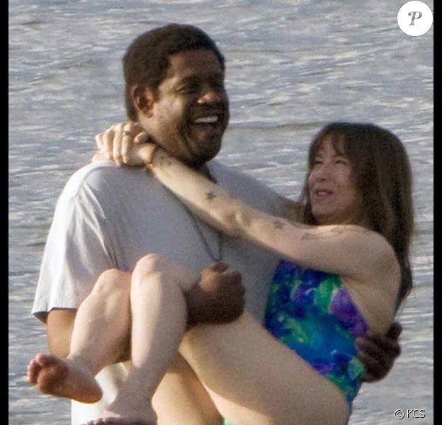 Renée Zellweger en maillot dans les bras de... Forest Whitaker !