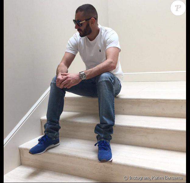 Photo de Karim Benzema publié le 13 avril 2016.