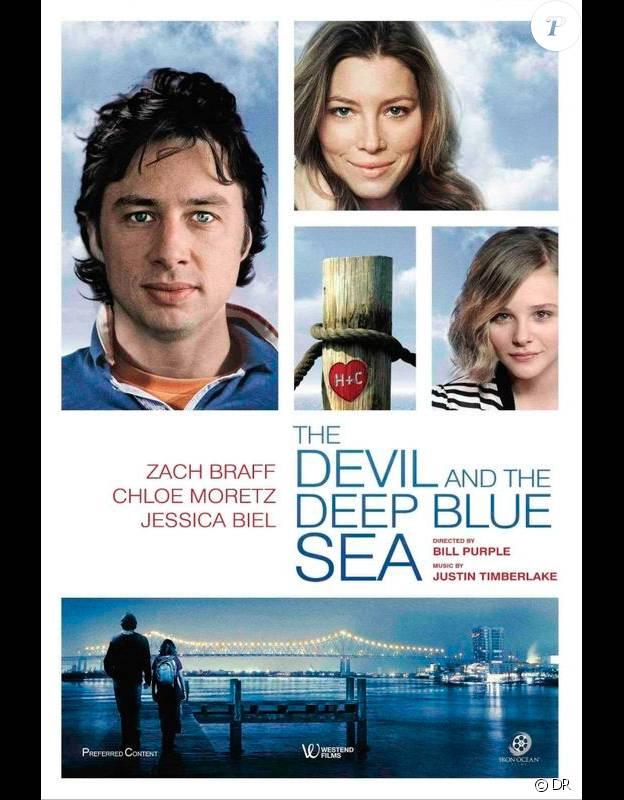 Première affiche du film The Devil and The Deep Blue Sea, avant que le casting ne soit modifié