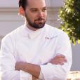 """Xavier, premier qualifié pour la finale - """"Top Chef 2016"""" sur M6. Emission du 11 avril 2016."""