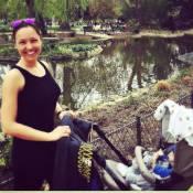Natasha St-Pier : Promenade avec Bixente pour la maman aux formes retrouvées