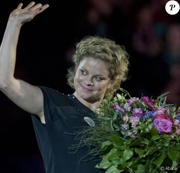 Kim Clijsters - Gala Kim's Thank You Games, à Anvers, le 12 décembre 2012