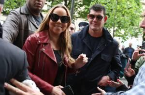 Mariah Carey à Paris : Serial shoppeuse avec son futur mari James Packer