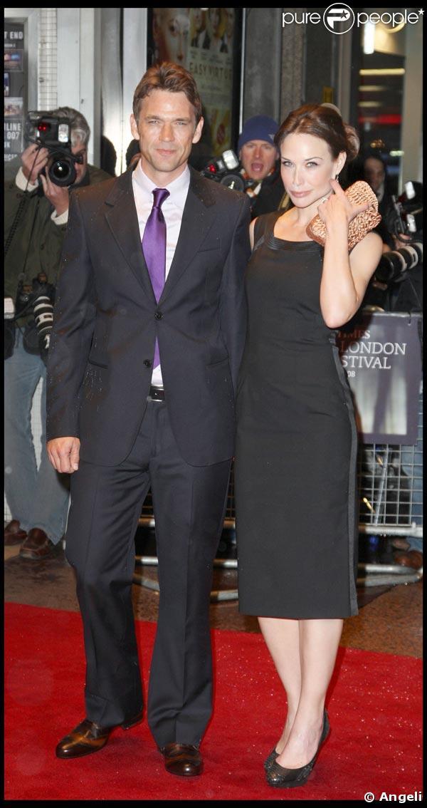 Claire Forlani couple