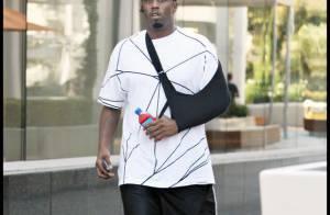 REPORTAGE PHOTOS : P. Diddy s'est blessé !