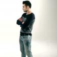 """Ricardo des """"Anges 8"""" sur NRJ12 dans le clip  T'as rien compris  de Charly Bell."""