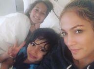 Jennifer Lopez splendide au naturel avec ses adorables jumeaux, Emme et Max
