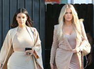 Kim et Khloé Kardashian : Un duo irrésistible, Kim maquillée par sa fille