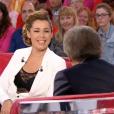 """Chimène Badi dans """"Vivement dimanche"""" sur France 2. Le 1er mai 2016."""