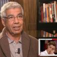 """Chimène Badi, très émue par l'interview de son père dans """"Vivement dimanche"""" sur France 2. Le 1er mai 2016."""