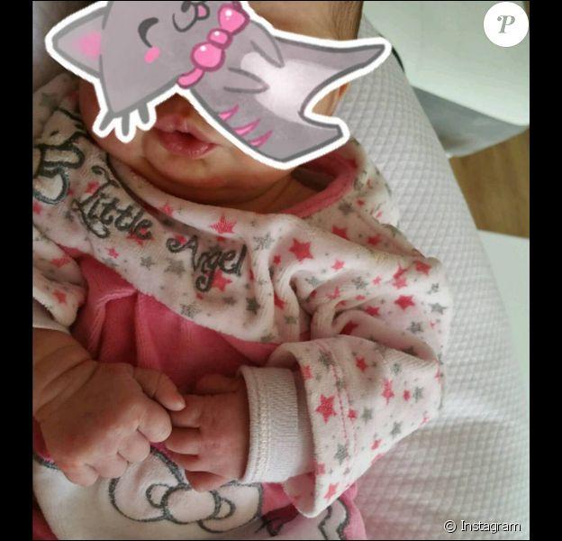 Kelly Bochenko publie un cliché de sa petite fille, le lundi 2 mai 2016.