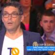 Thierry Moreau, dans  Touche pas à mon poste  sur D8 le mercredi 4 mai 2016.