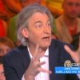 Gilles Verdez, dans  Touche pas à mon poste  sur D8 le mercredi 4 mai 2016.