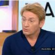 Benoît Magimel, invité dans  C à vous  sur France 5, le mardi 3 mai 2016.