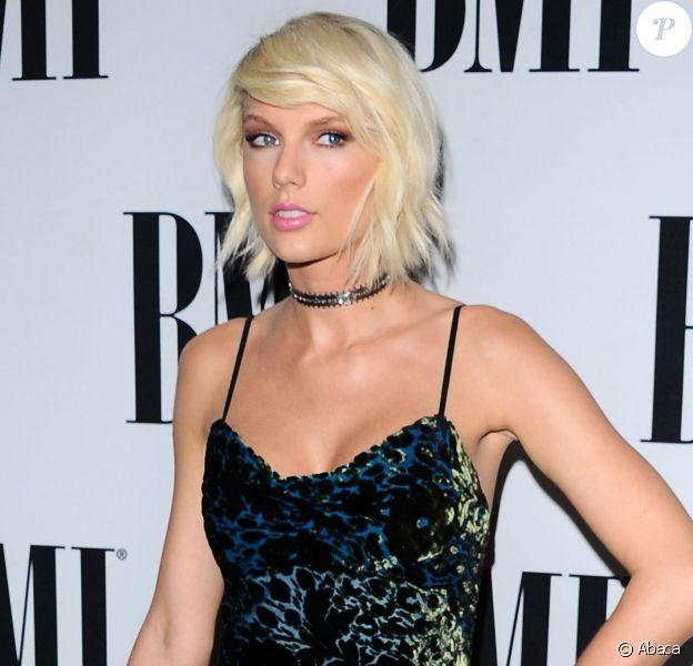 Taylor Swift à la 64e cérémonie annuelle des BMI Pop Awards à Beverly Hills, Los Angeles, le 10 mai 2016