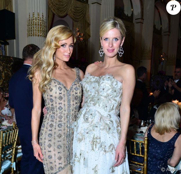 Paris Hilton, Nicky Rothschild au FIT Gala 2016 à New York. Le 9 mai 2016