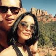 Vanessa Hudgens et Austin Butler passent la Saint Valentin à Sedona dans l'Arizona. Photo publiée sur Instagram, en février 2016