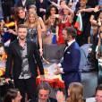 Justin Timberlake, invité spécial lors de la finale du concours de l'eurovision 2016 à Stockholm le 14 mai 2016.