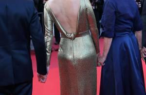 Cannes 2016: Marion Cotillard dos nu et recouverte d'or pour affronter son