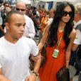 Nicole Scherzinger et Nicholas Hamilton, le frère de Lewis Hamilton