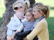 REPORTAGE PHOTOS : Gwen Stefani, promenade au parc avec ses deux fils... le bonheur !