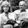 Jane Fonda avec son père Henri Fonda