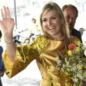 """Maxima des Pays-Bas : La reine sort la carte """"gold"""" pour ses 45 ans"""