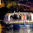 La reine Maxima et le roi Willem-Alexander des Pays-Bas assistent au concert de la Libération à Amsterdam le 5 mai 2016.