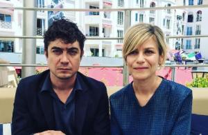 Marina Foïs et Riccardo Scamarcio :