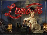 PHOTOS : Cindy Crawford en entraîneuse du Moulin Rouge, ça vaut le détour !