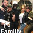 Nabilla Benattia et sa famille sur Snapchat, le 21 mai 2016