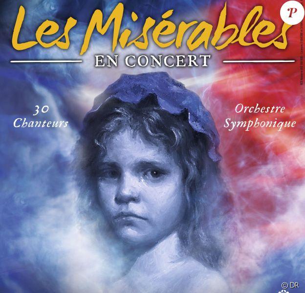 Les Misérables en concert les 4 et 5 mars 2017 au Palais des Congrès de Paris et en tournée dans toute la France à partir du 28 février 2017.