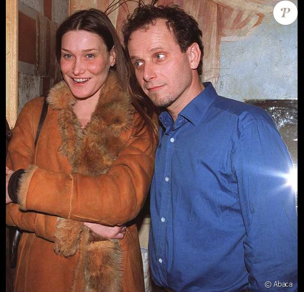 Charles Berling et Carla Bruni en 2001