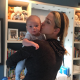 Ivanka Trump a publié une photo d'elle avec son fils Theodore James, âgé de deux mois, sur sa page Instagram, le 31 mai 2016