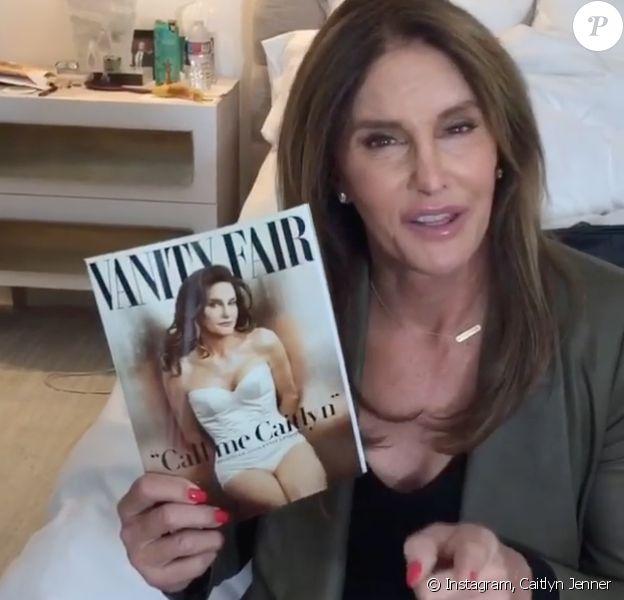 """Caitlyn Jenner célèbre le premier anniversaire de sa renaissance en couverture de """"Vanity Fair"""", le 1er juin 2016."""