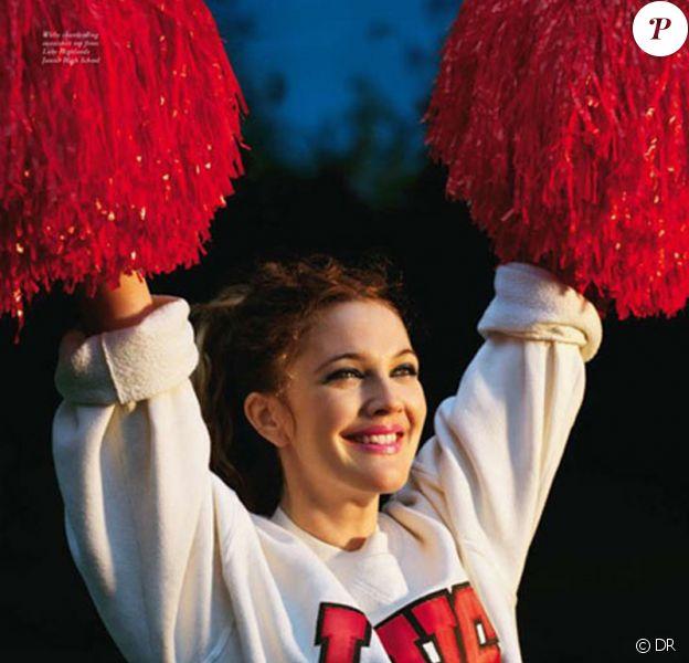 Drew Barrymore vous enchante si simplement !