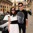 Keira Knightley et son époux James Righton à Paris, le 4 mars 2014.