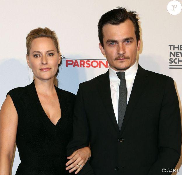 Rupert Friend et Aimee Mullins à New York, le 23 mai 2016.