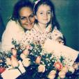 Valérie Damidot rend hommage à sa fille Roxane sur Instagram. Juin 2016.