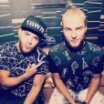 Photo du duo néerlandais Showtek, publiée sur leur page Instagram. Ils viennent de publier une chanson avec David Guetta, The Death of EDM, que les internautes accusent de plagiat.