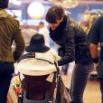 Jessica Alba fait ses courses avec sa fille Honor