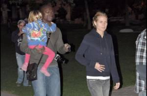 REPORTAGE PHOTOS : Heidi Klum et Seal surpris au parc en pleine soirée...