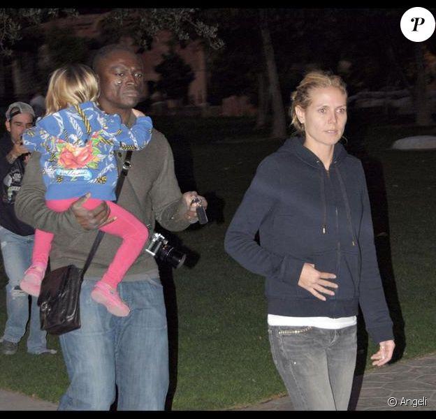 Seal, Heidi Klum et leurs enfants, sortie nocturne à L.A